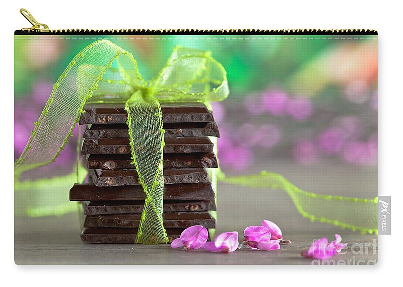 Addiction Carry-all Pouch featuring the photograph Chocolate by Nailia Schwarz
