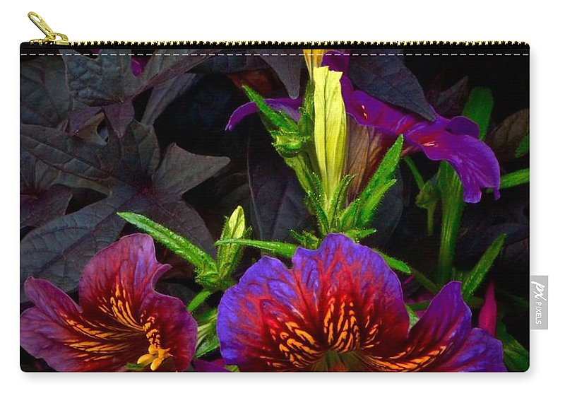 Chicago Botanic Garden Carry-all Pouch featuring the photograph 2 Coming And 2 Here by Tim G Ross