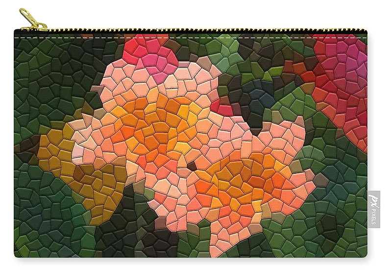 Vine Carry-all Pouch featuring the photograph Cross Vine by Kathryn Meyer