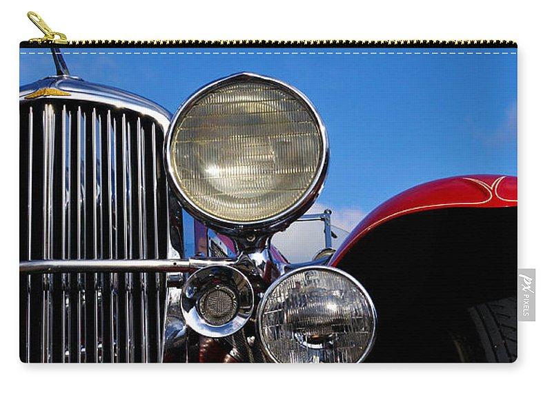 Vintage Carry-all Pouch featuring the photograph Duesenberg by Tim Nyberg