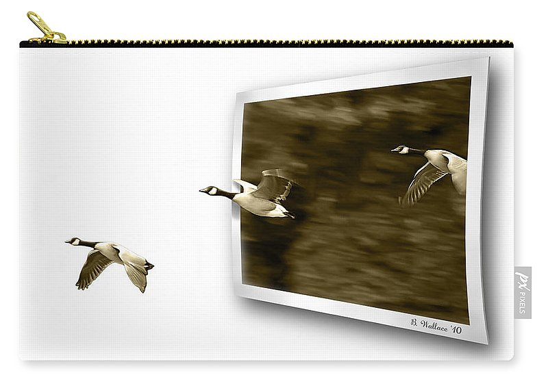 2d Carry-all Pouch featuring the photograph Follow The Leader by Brian Wallace