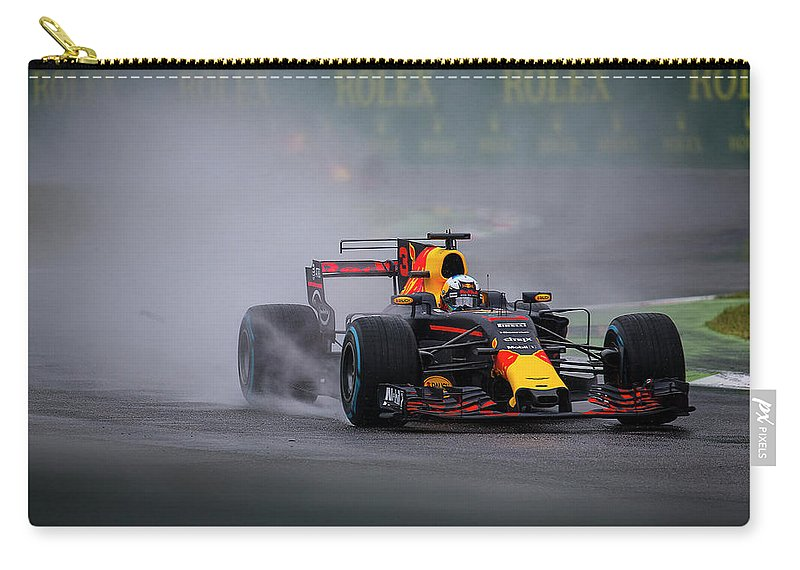 Sauber Carry-all Pouch featuring the photograph Formula 1 Monza 2017 by Srdjan Petrovic