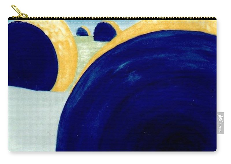 Landscape Carry-all Pouch featuring the painting Giant Series by John Linden