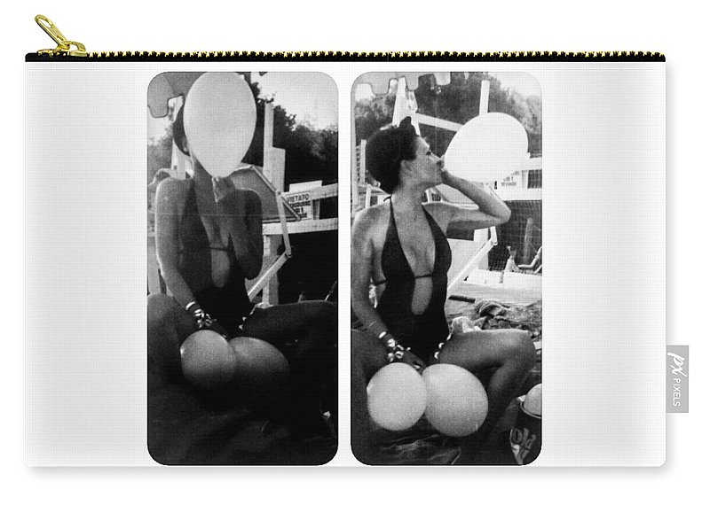 Autoritratto Carry-all Pouch featuring the photograph Hammershoi by Alessandra Gianfrate