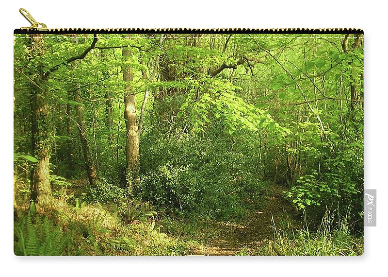 Landscape Carry-all Pouch featuring the photograph Hazelwood Co Sligo Ireland by Louise Macarthur Art and Photography