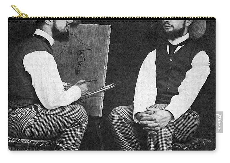 19th Century Carry-all Pouch featuring the photograph Henri De Toulouse-lautrec by Granger