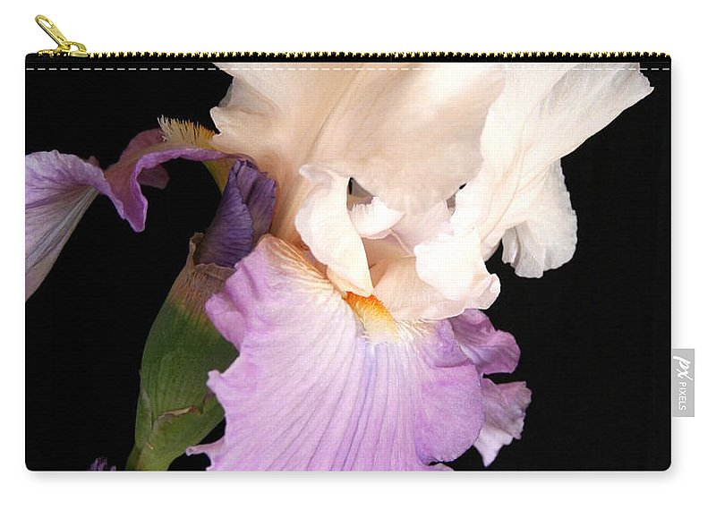 Iris Carry-all Pouch featuring the photograph Iris by Marna Edwards Flavell