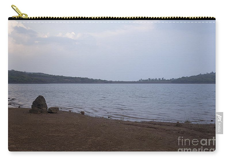 Kaas Carry-all Pouch featuring the photograph Kaas Lake by Kiran Joshi