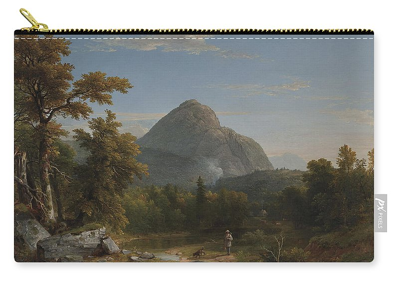 Landscape Carry-all Pouch featuring the painting Landscape by Asher Brown Durand