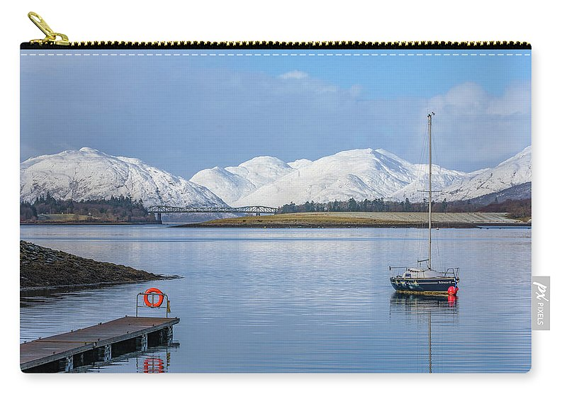 Loch Leven Carry-all Pouch featuring the photograph Loch Leven - Scotland by Joana Kruse