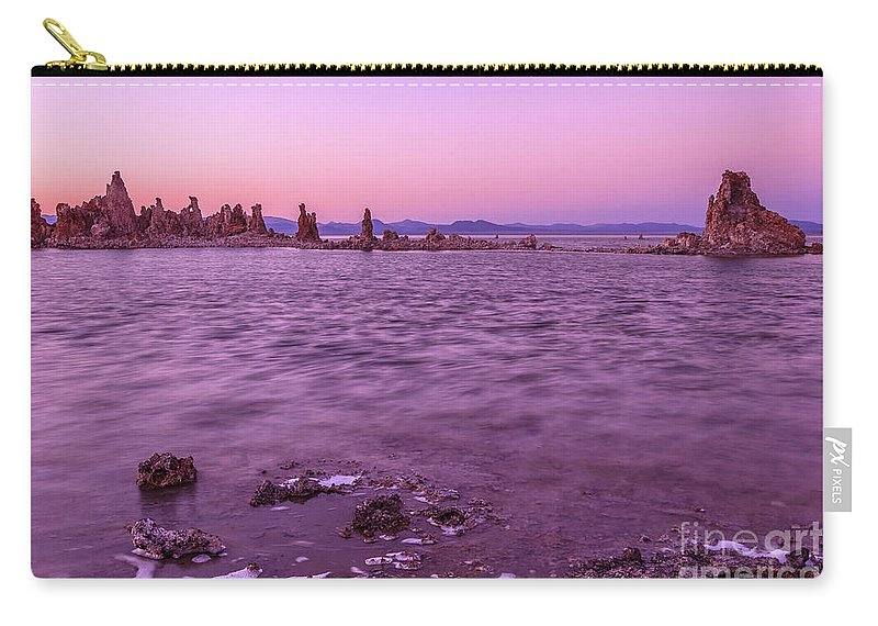 Mono Lake Carry-all Pouch featuring the photograph Mono Lake California by Benny Marty