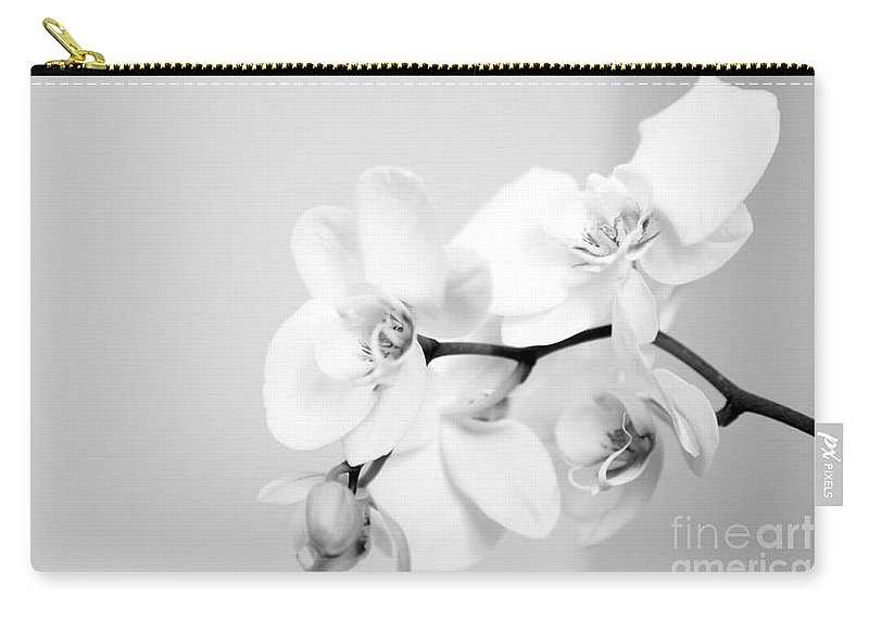 Orchid Carry-all Pouch featuring the photograph Orchid by Amanda Barcon