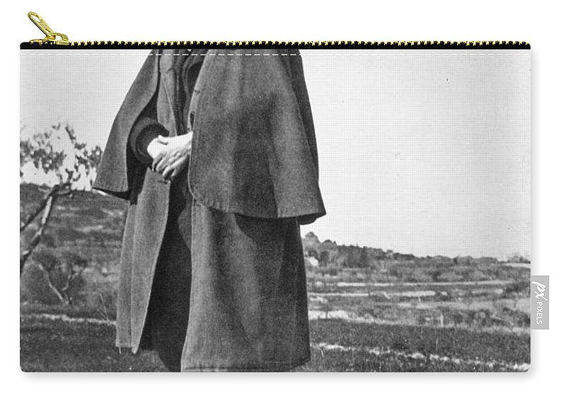19th Century Carry-all Pouch featuring the photograph Paul Cezanne (1839-1906) by Granger
