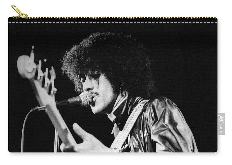Phil Carry-all Pouch featuring the photograph Phil Lynott by David Fowler