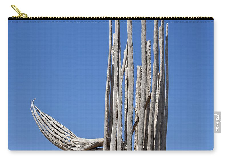 Saguaro Skeleton Carry-all Pouch featuring the photograph Saguaro Skeleton by Kelley King