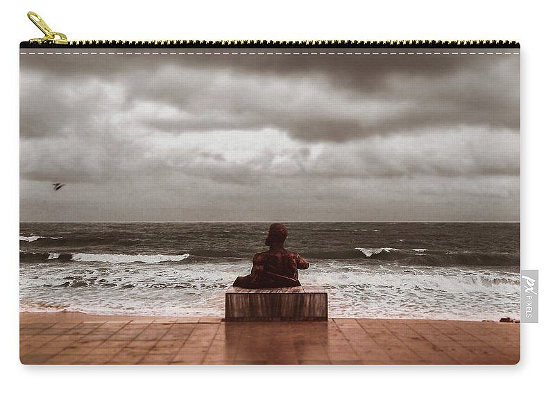 Seascape Carry-all Pouch featuring the photograph Seascape by Sergey Yatsun
