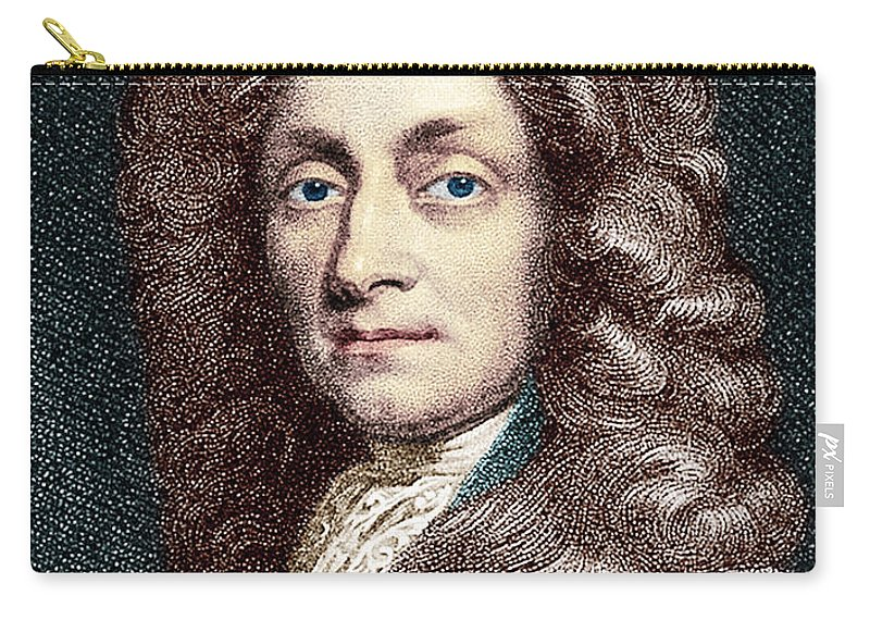 Historic Carry-all Pouch featuring the photograph Sir Christopher Wren, Architect by Science Source