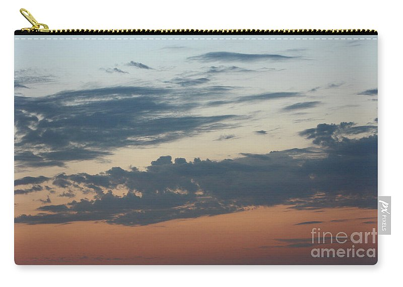 Sunset Carry-all Pouch featuring the photograph Sunset Moreno Valley Ca by Tommy Anderson