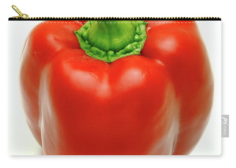 Pepper Carry-all Pouch featuring the photograph Sweet Pepper by Gaspar Avila