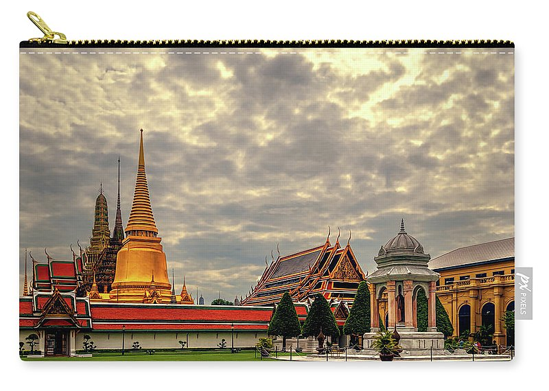 Ancient Carry-all Pouch featuring the photograph Temple by Maria Coulson