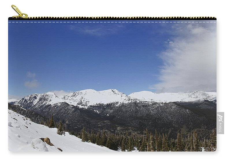 Horizontal Carry-all Pouch featuring the photograph The Continental Divide by Brian Kamprath