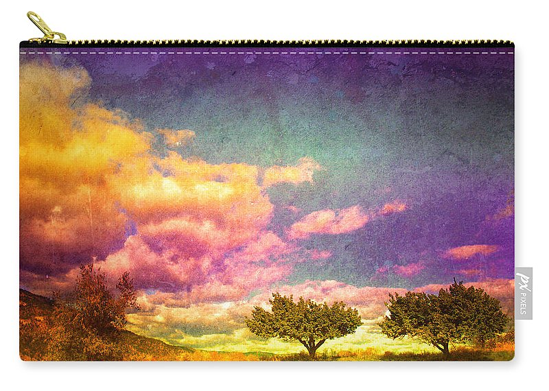 Trees Carry-all Pouch featuring the photograph The Kvr Collection by Tara Turner