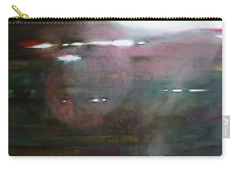 Oil Carry-all Pouch featuring the painting The Parallel World by Sergey Ignatenko