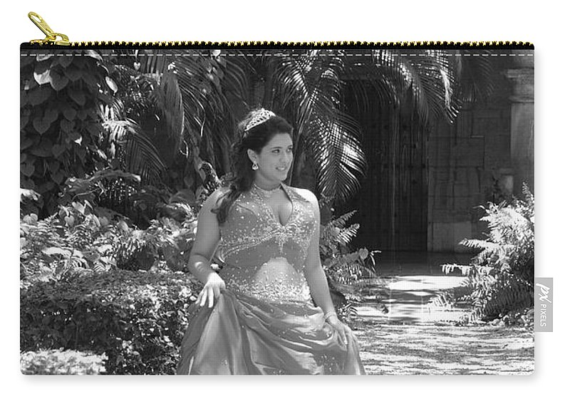 Girl Carry-all Pouch featuring the photograph The Princess by Rob Hans