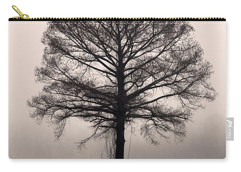 Trees Carry-all Pouch featuring the photograph The Tree by Amanda Barcon