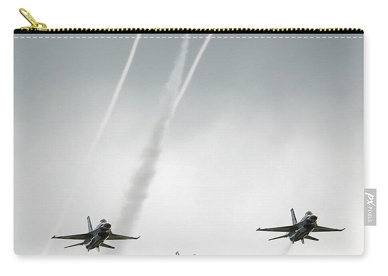 Color Image Carry-all Pouch featuring the photograph The United States Air Force by Stocktrek Images