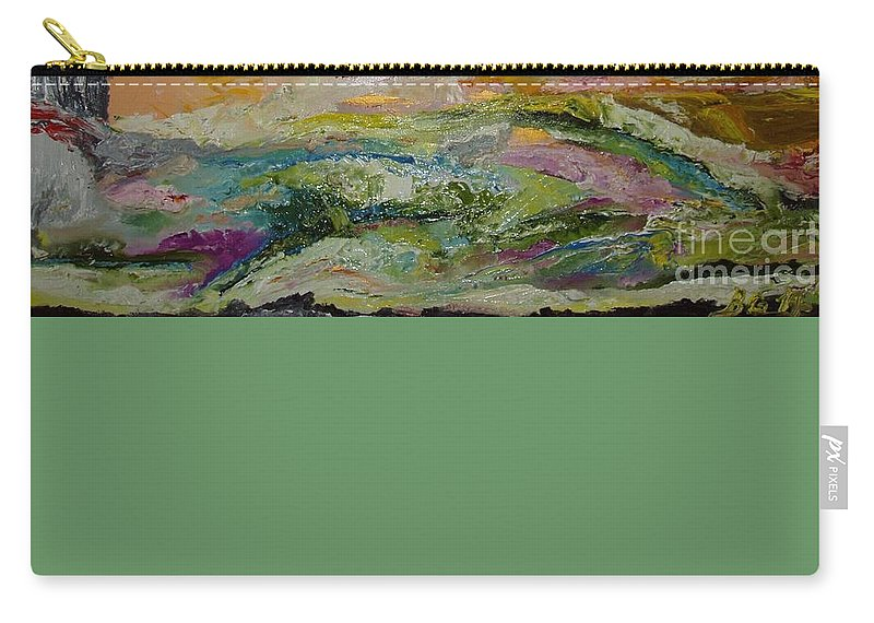 Sky Carry-all Pouch featuring the painting Untitled by Bennu Bennu
