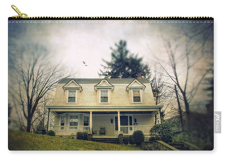 House Carry-all Pouch featuring the photograph Vacant by Jessica Jenney