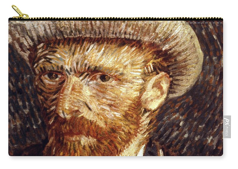 1887 Carry-all Pouch featuring the photograph Vincent Van Gogh by Granger