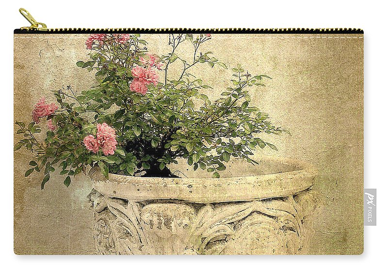 Vintage Carry-all Pouch featuring the photograph Vintage Still Life by Jessica Jenney