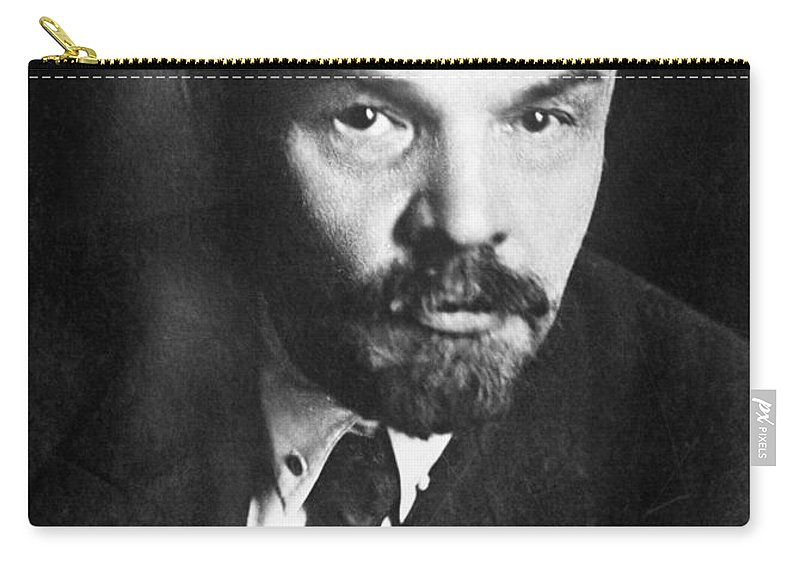 1919 Carry-all Pouch featuring the photograph Vladimir Lenin (1870-1924) by Granger