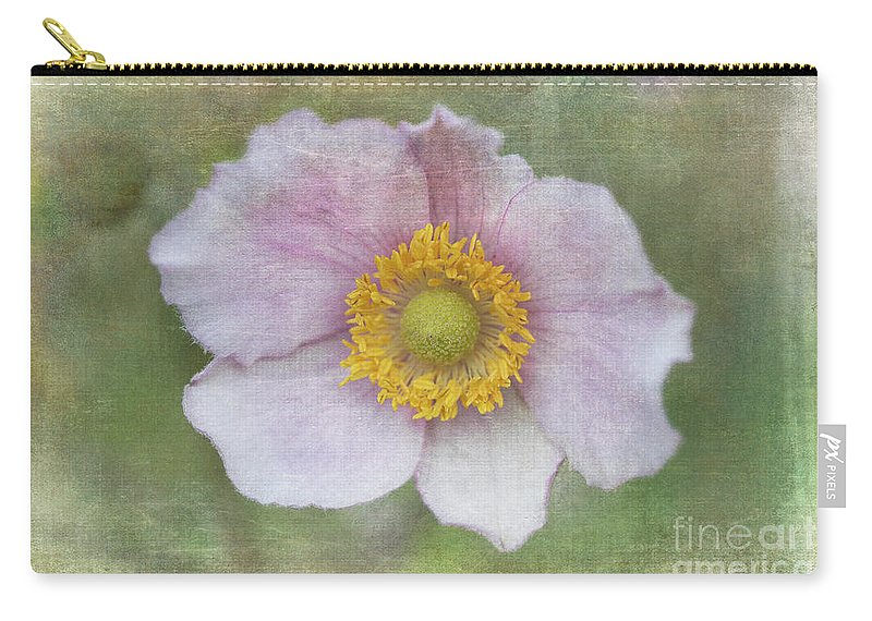 Windflower Carry-all Pouch featuring the photograph Windflower by Alenka Krek