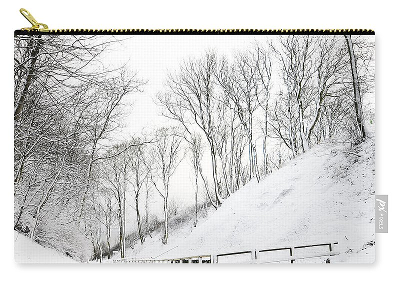 Winter Carry-all Pouch featuring the photograph Winter by Svetlana Sewell