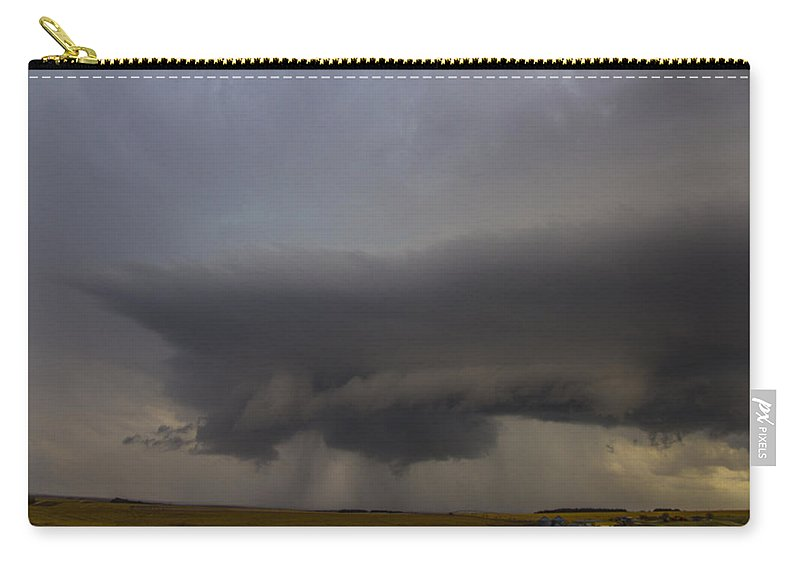 Nebraskasc Carry-all Pouch featuring the photograph 4th Storm Chase 2015 by NebraskaSC