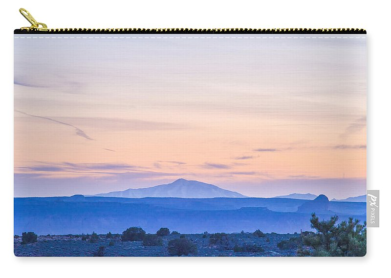 Park Carry-all Pouch featuring the photograph Canyonlands National Park Utah by Alex Grichenko