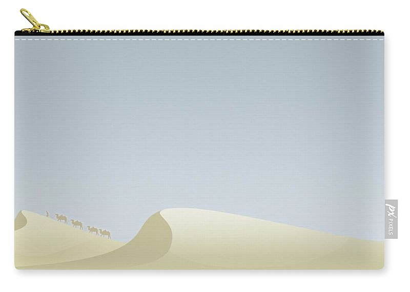 Nature Carry-all Pouch featuring the digital art Nature by Mery Moon