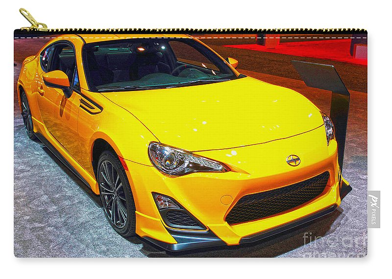 Auto Carry-all Pouch featuring the photograph 2015 Scion Fr-s Number 2 by Alan Look