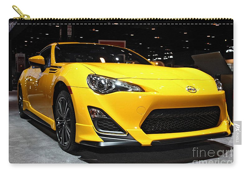 Auto Carry-all Pouch featuring the photograph 2015 Scion Fr_s Number 1 by Alan Look