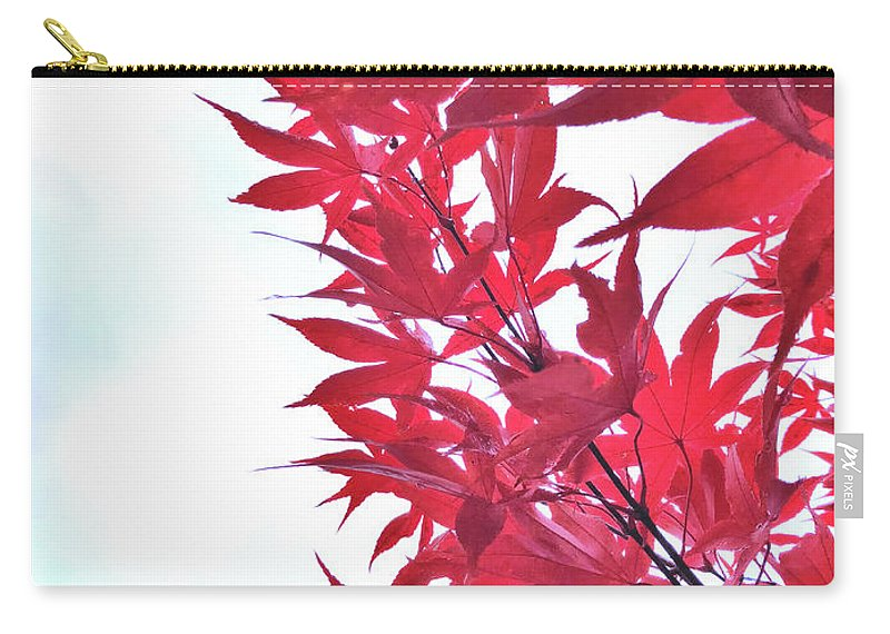 Autumn Carry-all Pouch featuring the photograph 2017 Red Maple 3 by Victor K