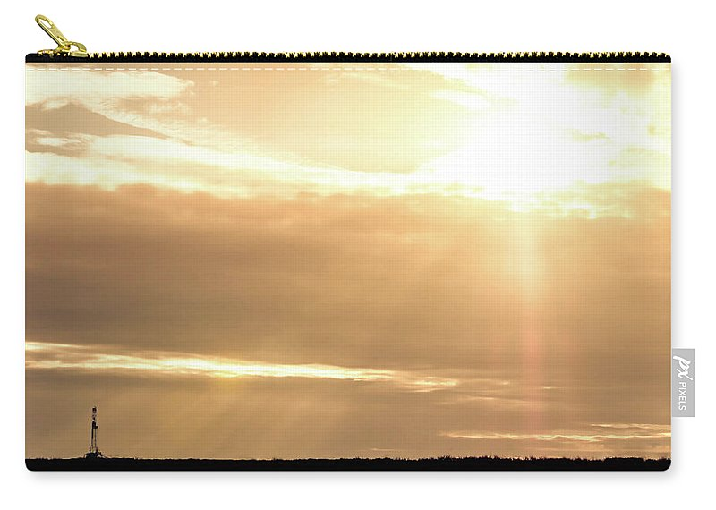 Drillers Club Carry-all Pouch featuring the photograph 2018_02_pecos Tx_cactus 153 1 by Brian Farmer