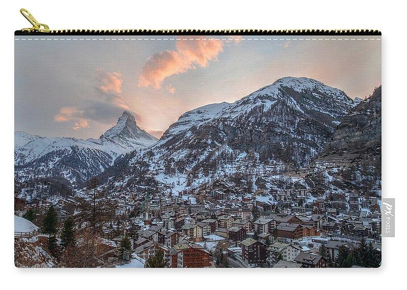 Matterhorn Carry-all Pouch featuring the photograph Zermatt - Switzerland by Joana Kruse