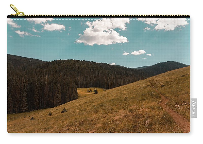 Landscape Carry-all Pouch featuring the photograph 233pm by Joshua Hernandez