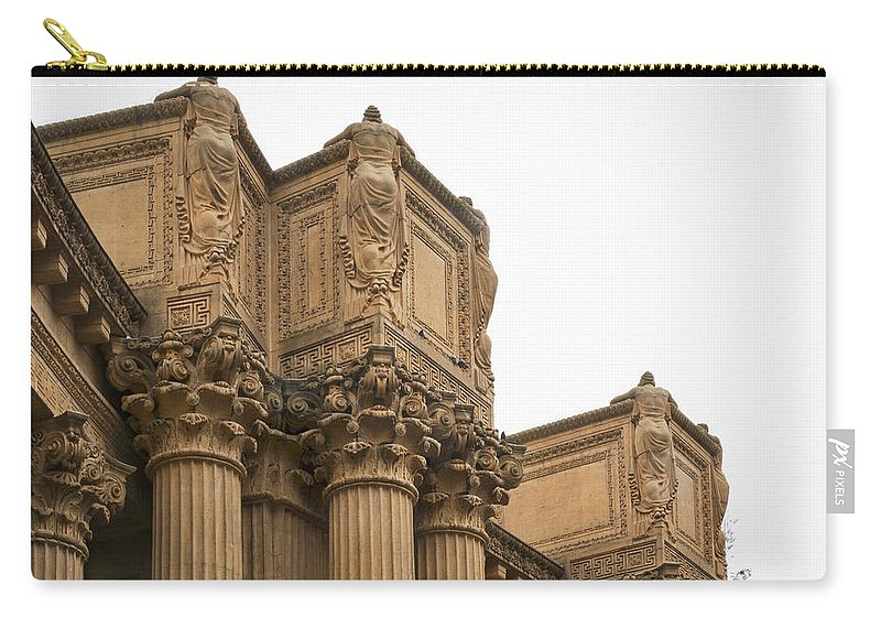Palace Of Fine Arts Carry-all Pouch featuring the photograph 2511- Palace Of Fine Arts by David Lange