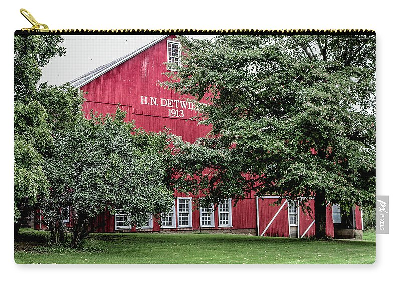 Barn Carry-all Pouch featuring the photograph 254 Salem Ohio_fa by Dennis R Bean