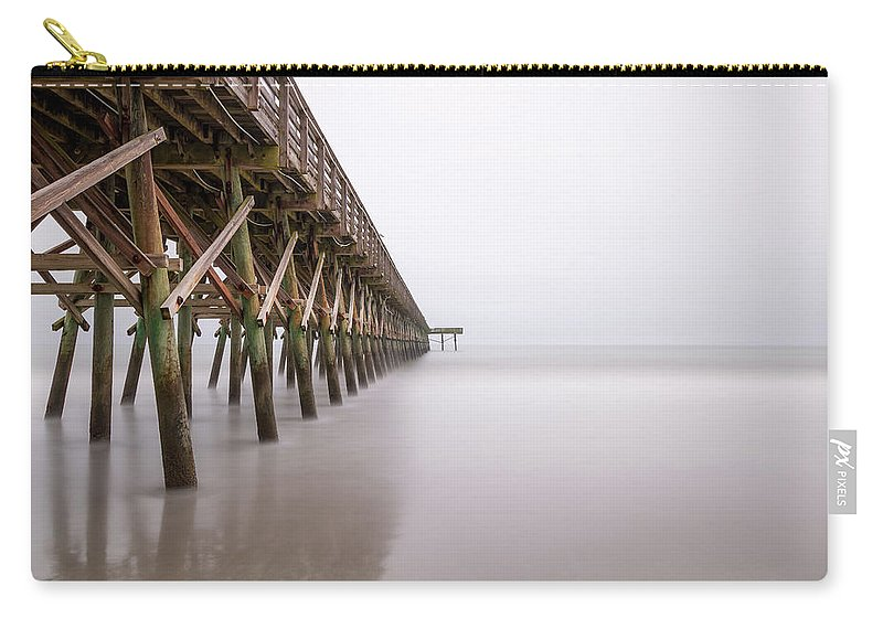 Long Exposure Carry-all Pouch featuring the photograph 2nd Ave Exposure by Charles Lawhon