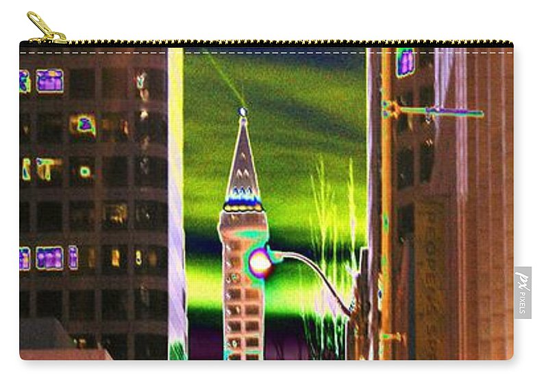 Seattle Carry-all Pouch featuring the photograph 2nd Avenue Sunrise by Tim Allen